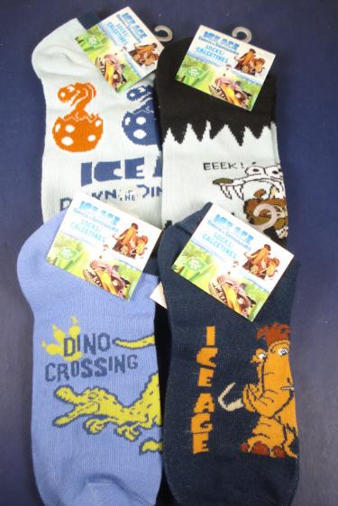 LICENSED Ice Age Ankle Socks Size 9-11