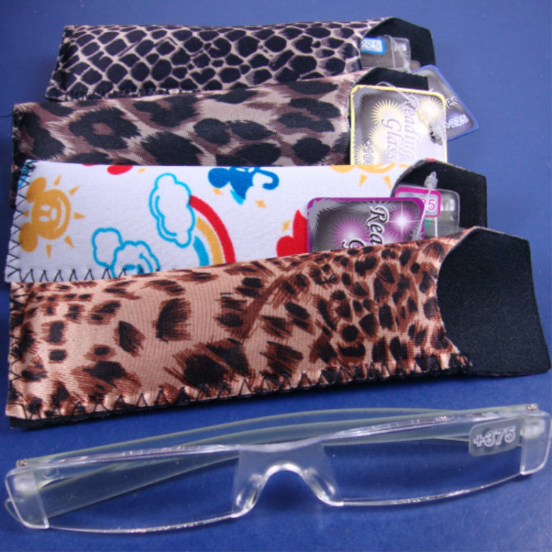 Acpheric READING GLASSES with Carrying Case 36 pc display  .75 EACH